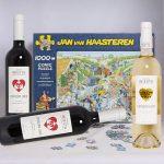 Wijnpuzzel geschenk Jan van Haasteren