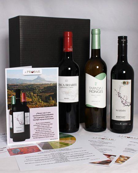 Wijnproefbox Wijnbeleving Spanje Portugal